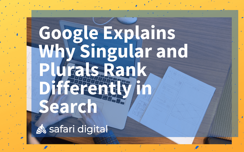 seo plural or singular keywords - small cover image