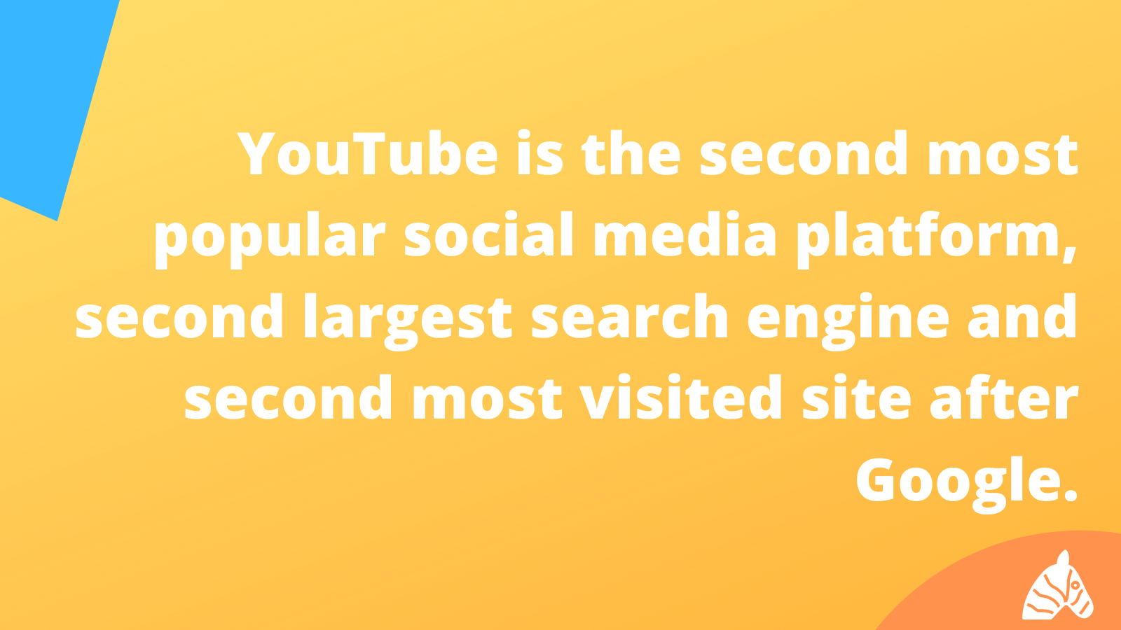 youtube is the second largest search engine on the internet
