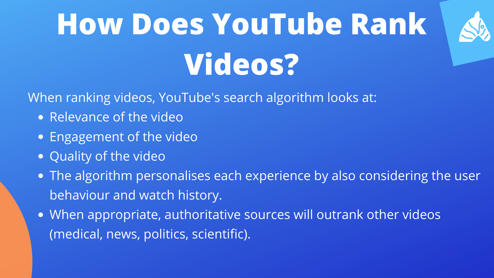 how youtube ranks videos