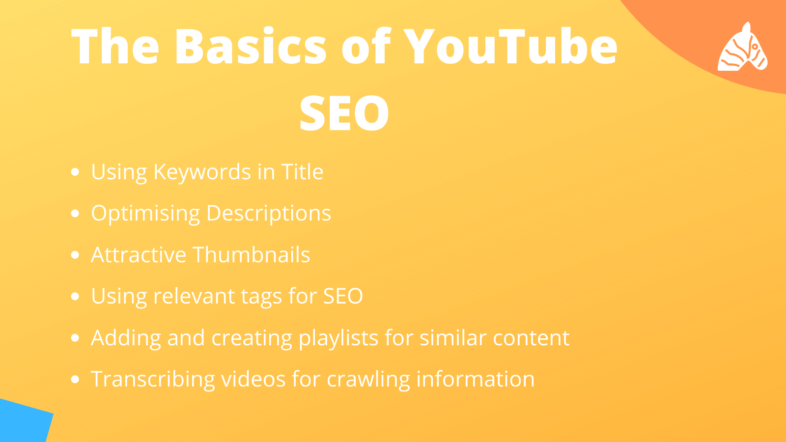 the basics of youtube seo