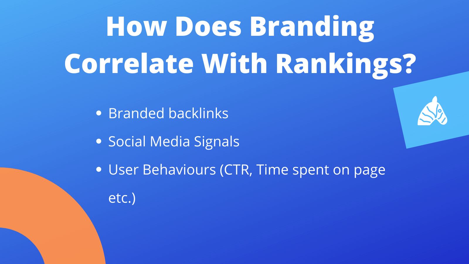 how do SEO rankings correlate with branding