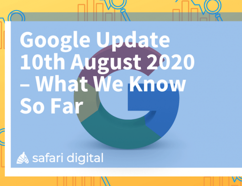 Google Update 10th August 2020