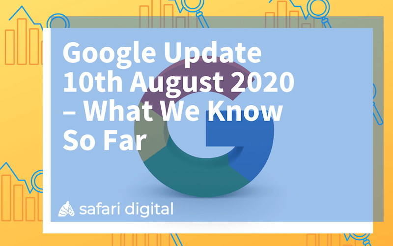 google core update august 2020 - small cover image