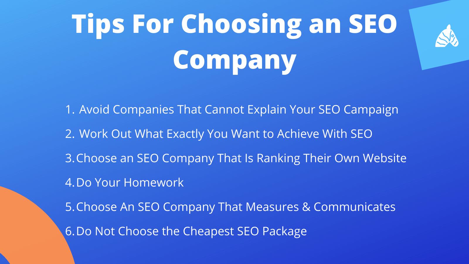 How To Choose an SEO Company