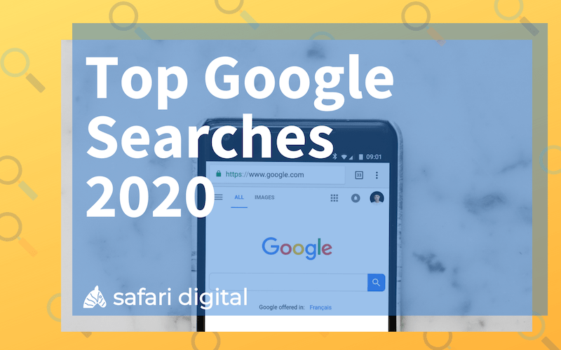 Top Google Searches 2020 - small cover image