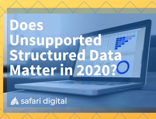 Does Unsupported Structured Data Matter in 2020? John Mueller Weighs In