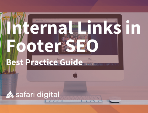 Internal Links in Footer SEO – Best Practice Guide