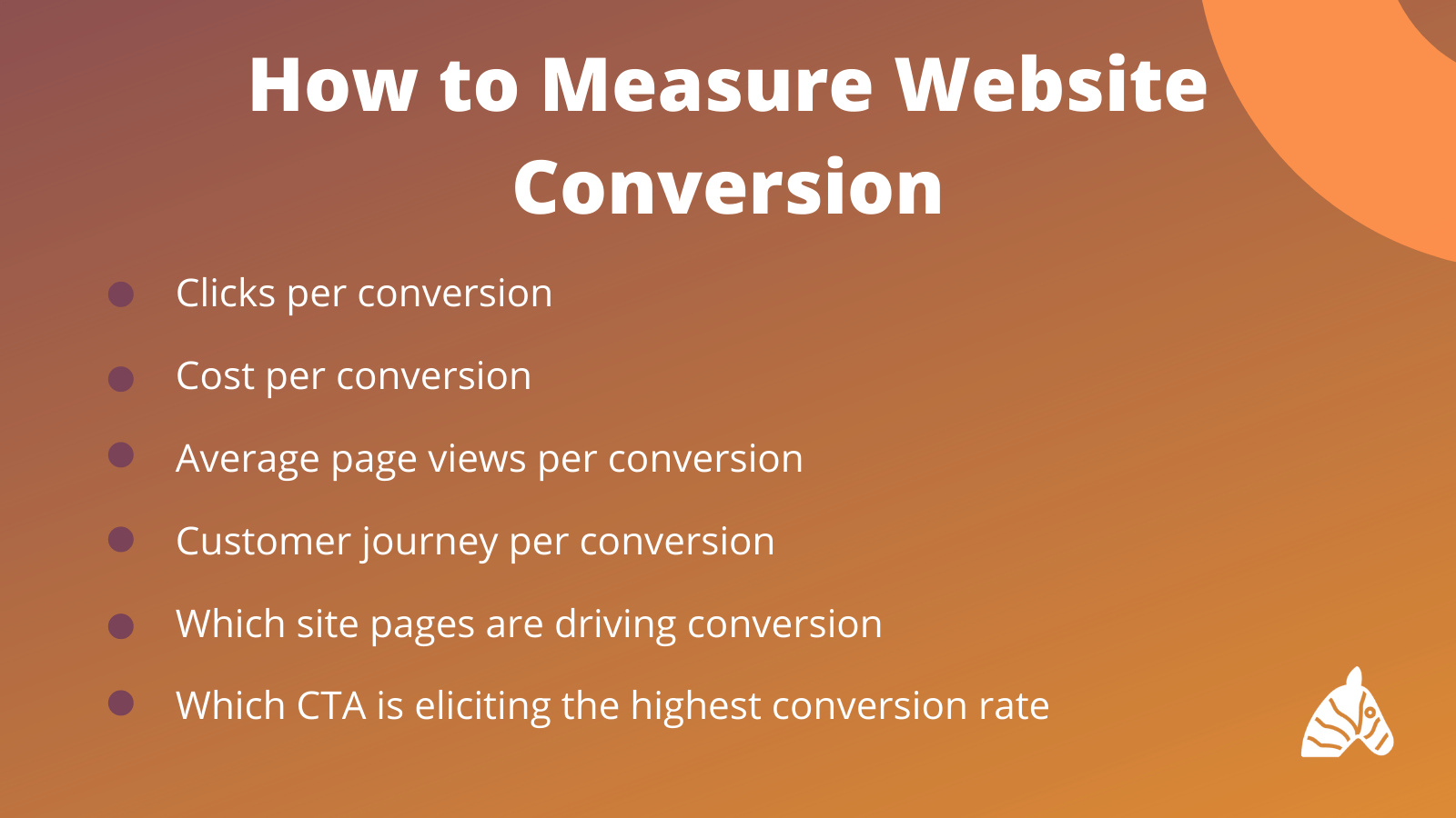 measure conversions infographic