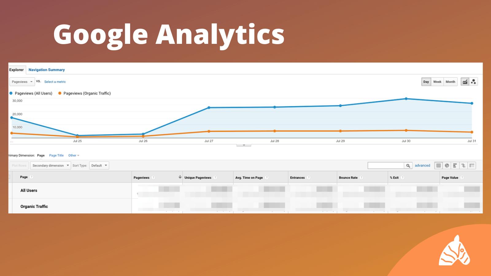 SEO Ranking Tools Google Analytics Infographic