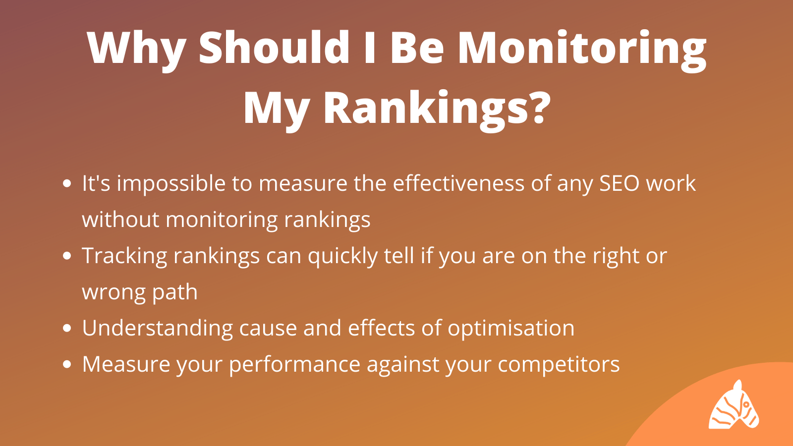 why should i track my rankings infographic
