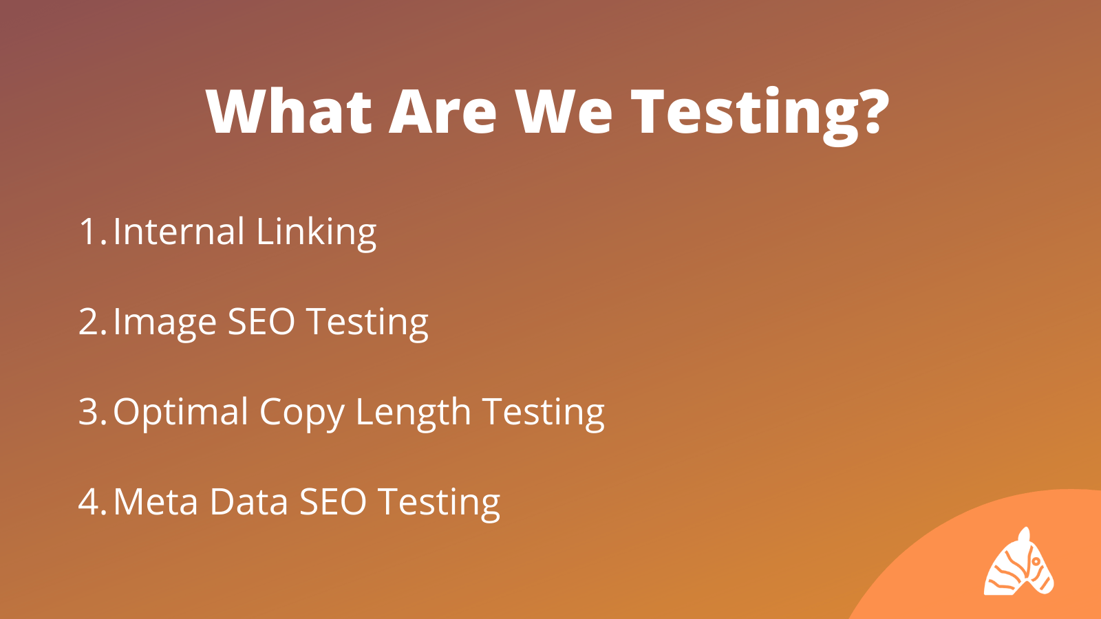 What SEO testing does safari digital perform infographic