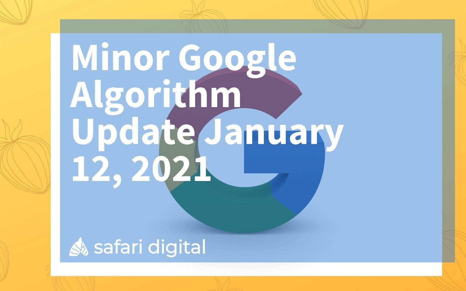 minor google algorithm update january 2021