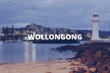 Wollongong location tile