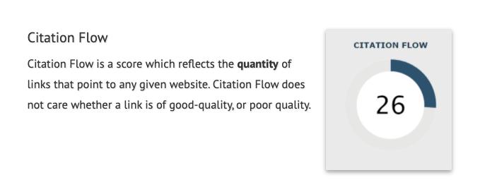citation flow explained