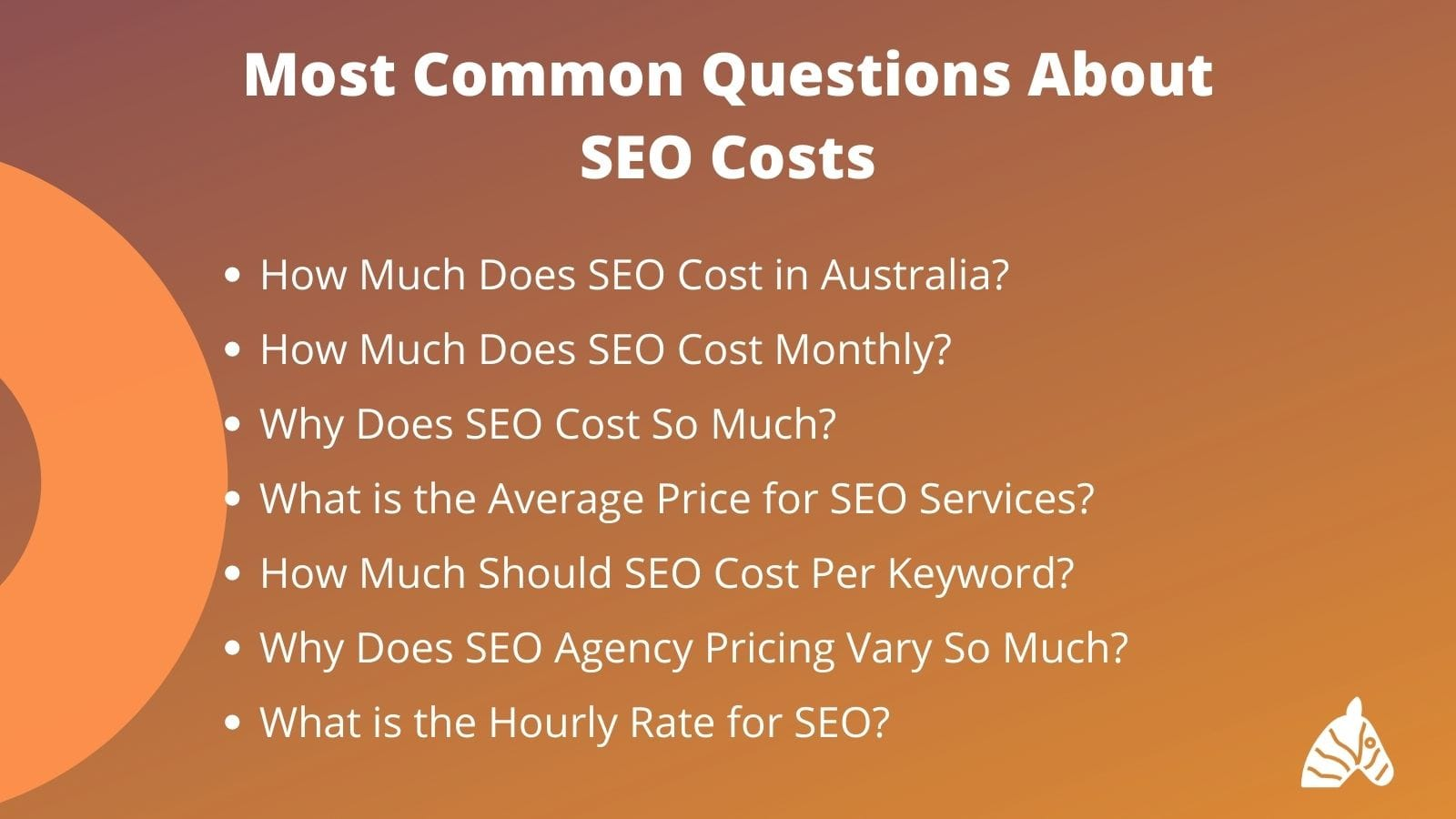 Most common questions about the cost of SEO in Australia