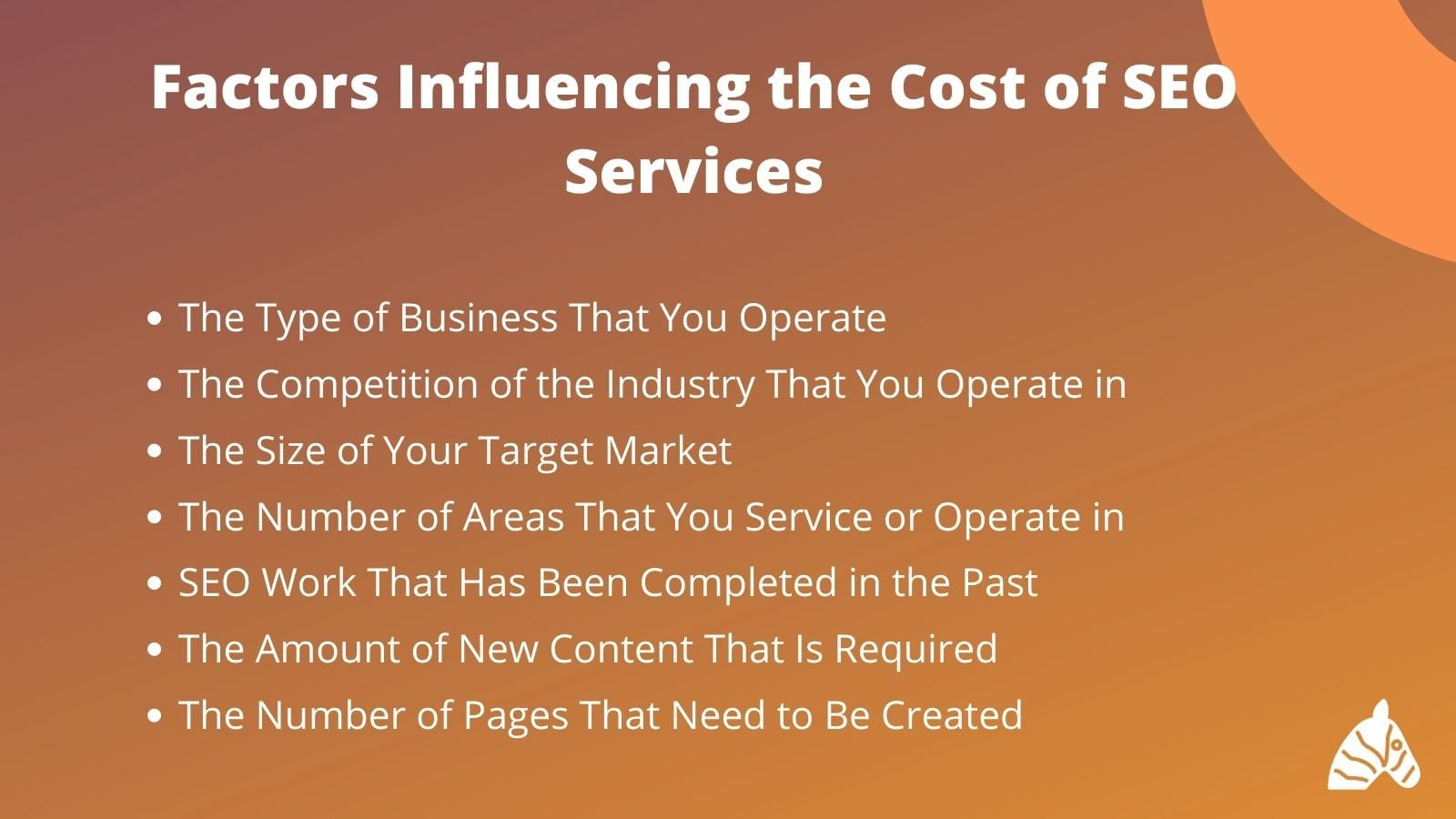 Factors that influence the cost of SEO services in Australia