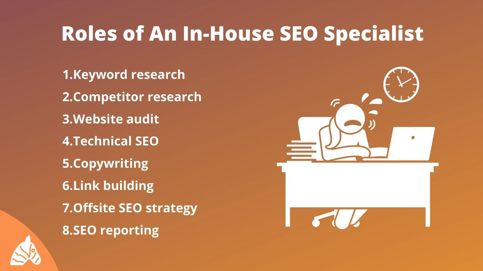 Roles of an in-house SEO specialist