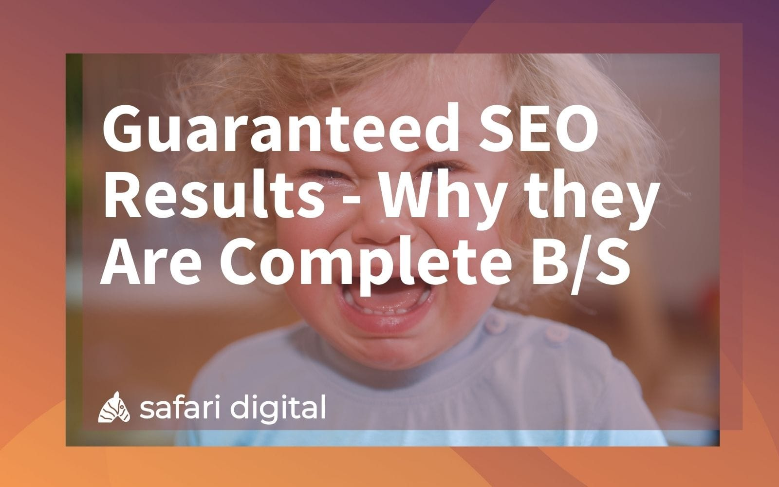 guaranteed SEO results cover image
