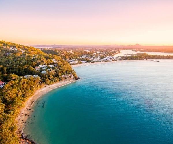 sunshine coast at dawn