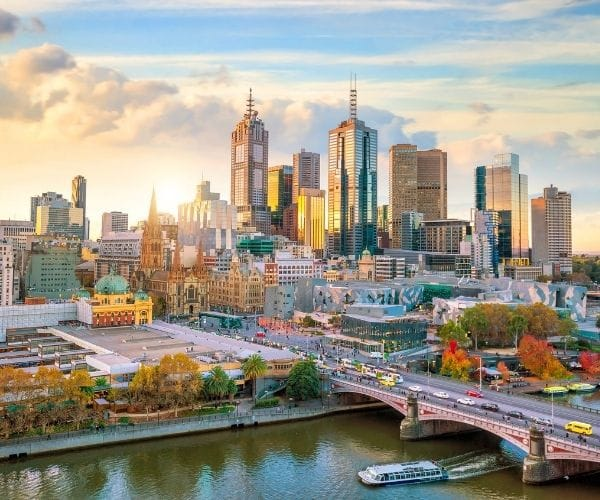 Melbourne at dawn