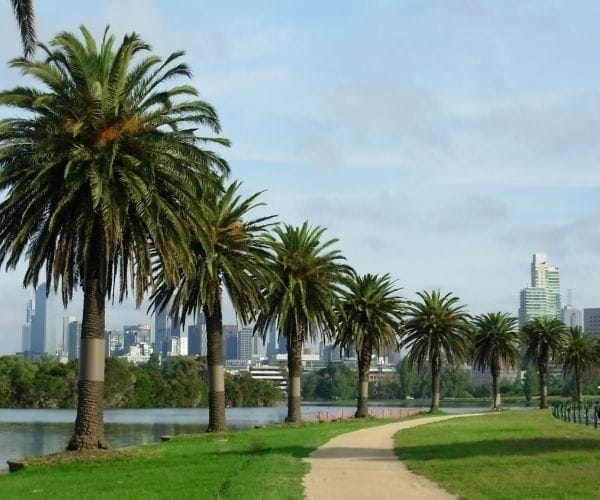albert park in Melbourne