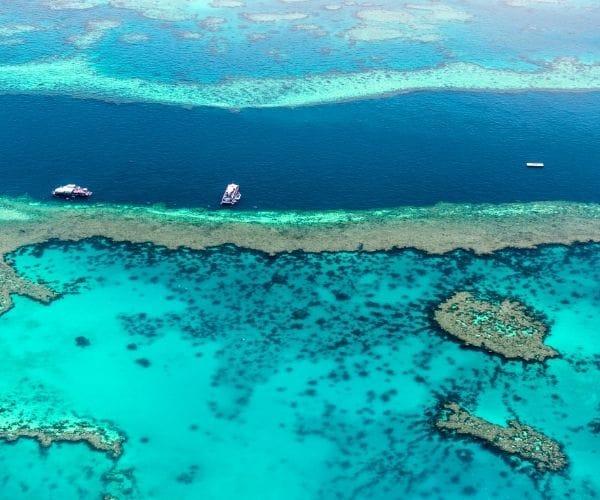 great barrier reef skyview
