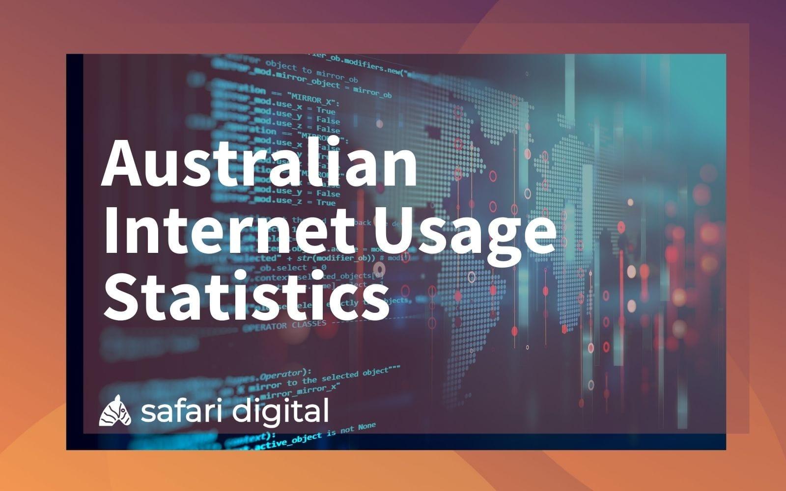 Australian Internet Statistics