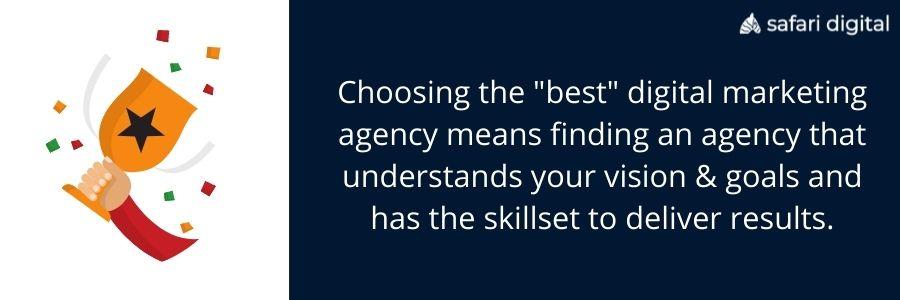 ways to choose the best digital agencies