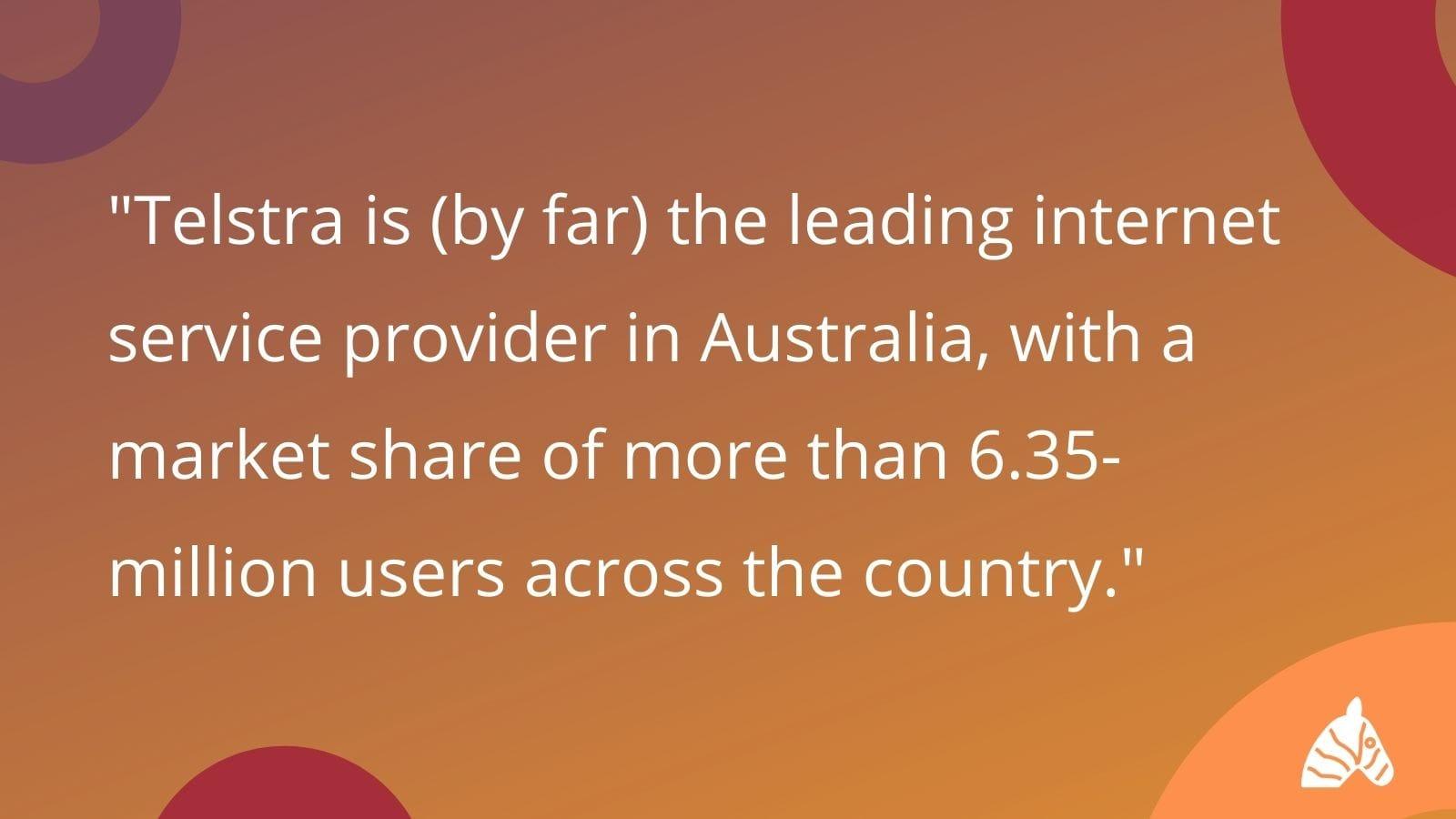 most popular ISP provider in Australia