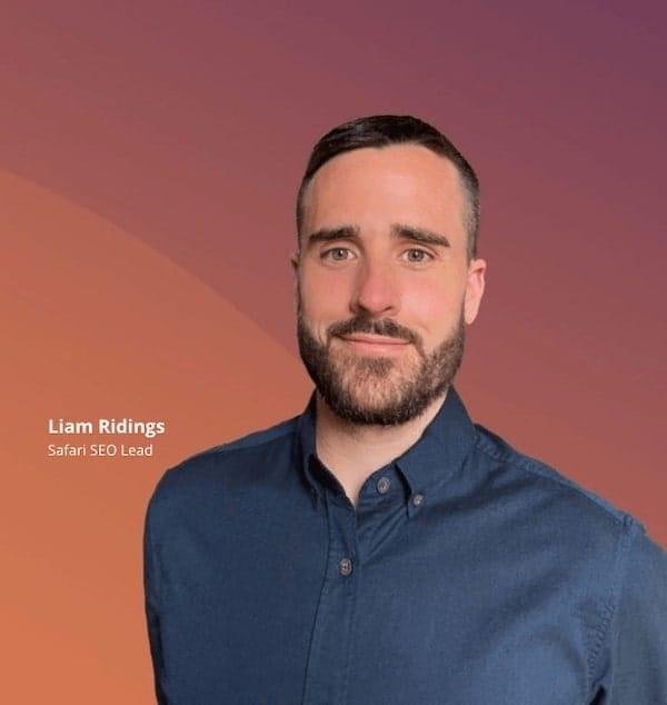 Liam Ridings SEO Lead