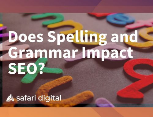 Does Spelling and Grammar Impact SEO?
