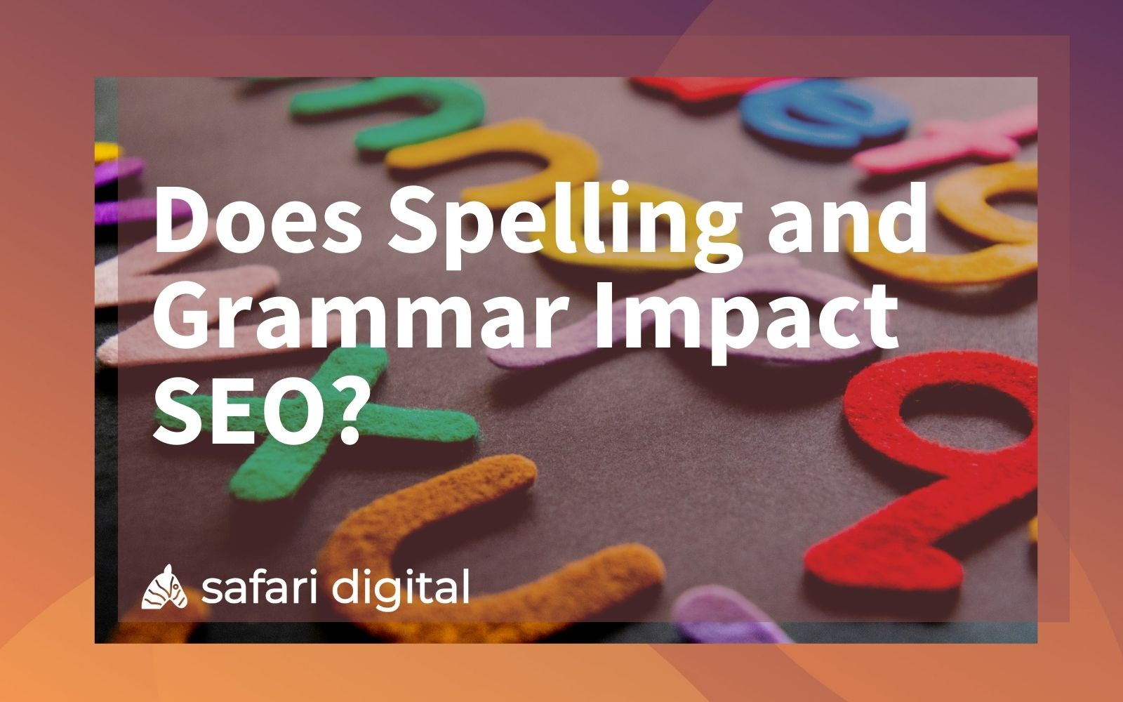Spelling and Grammar SEO cover image
