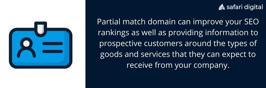 partial match domains explained