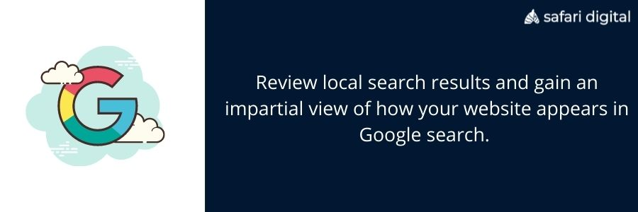 isearchfrom.com application in local search results