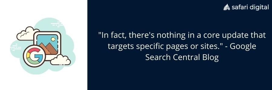 Google search central explain core updates