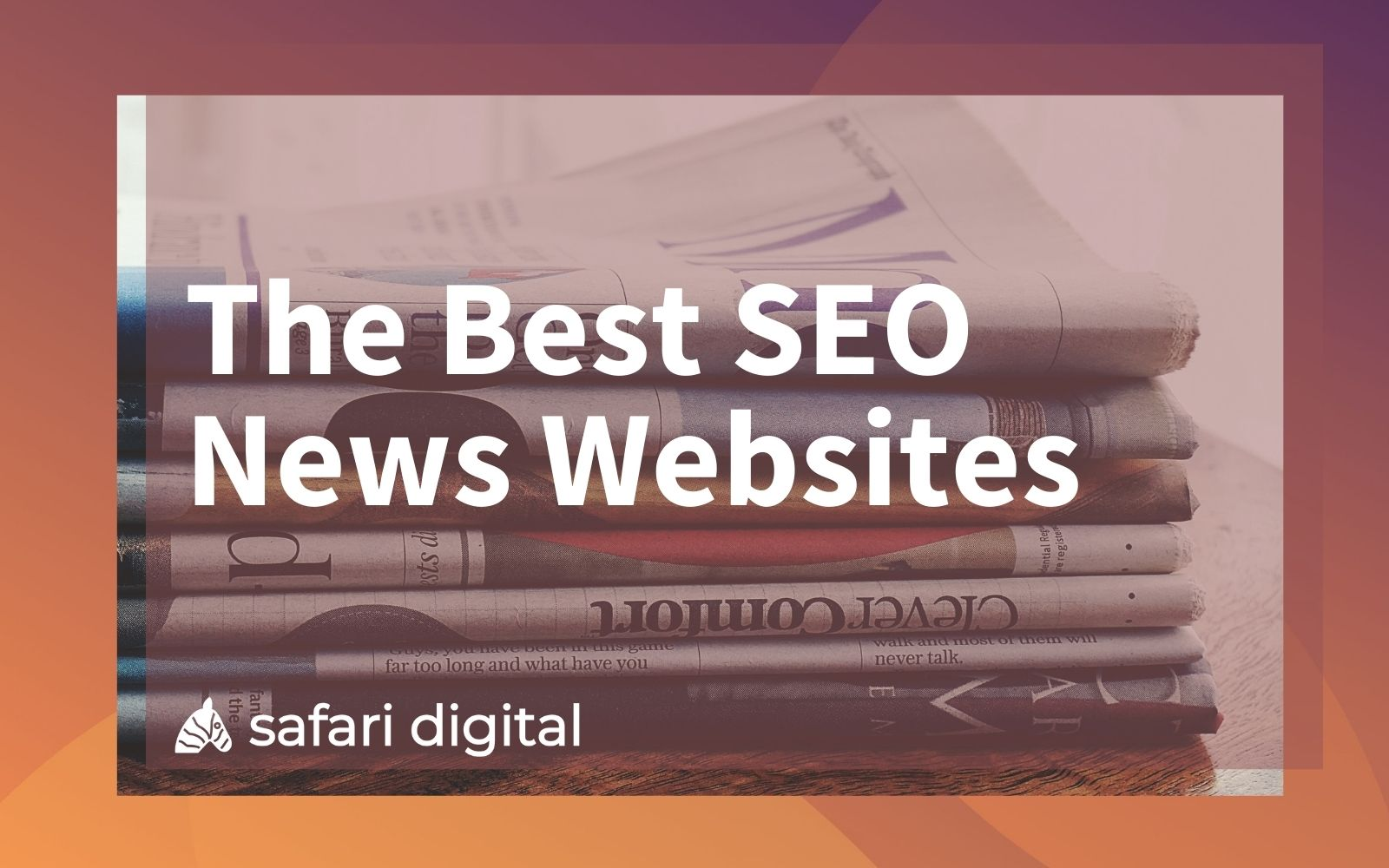 Best SEO news websites cover image