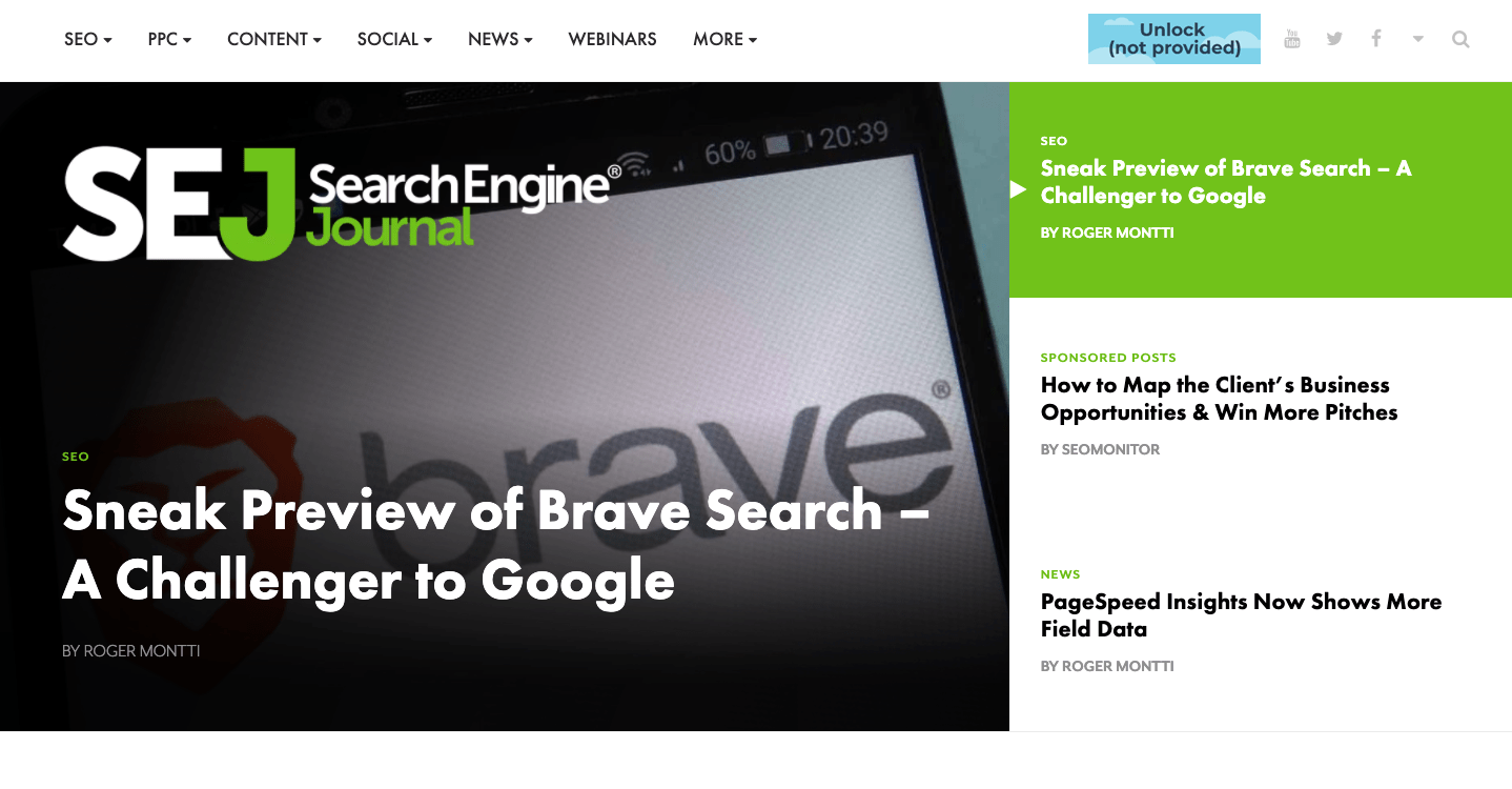 search engine journal website image
