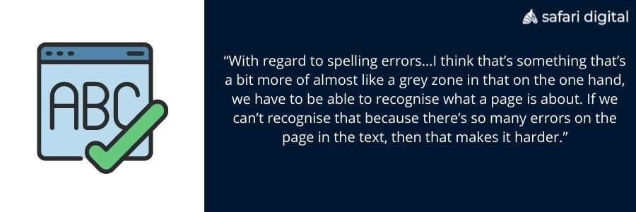 spelling and grammar comments from John Mueller
