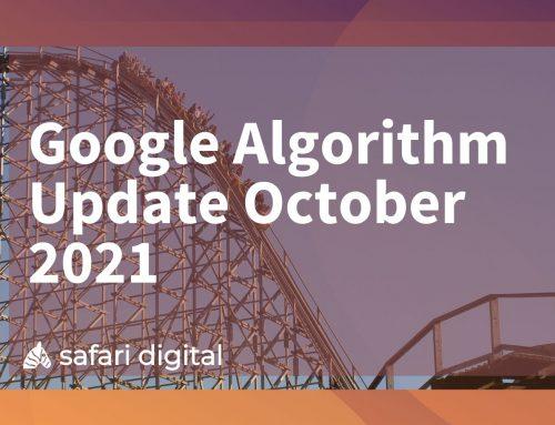 Google Algorithm Update October 3rd, 2021